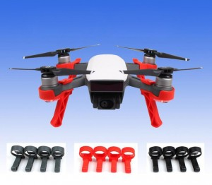 Extended Landing Gear Stabilizers for DJI Spark