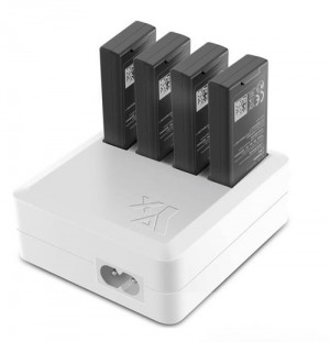 Battery Charging Hub Charges upto 4 Batteries for DJI Tello