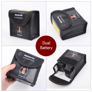 LiPo Battery Safe Bag LiPo Guard for DJI Mavic Air - Dual Battery