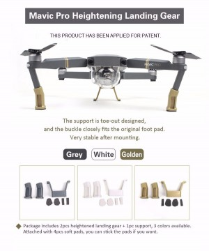 DJI Mavic Pro Extension Landing Feet