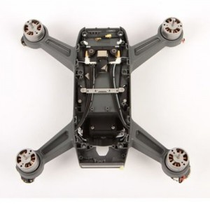 DJI Spark Middle Frame Body Shell Replacement with Motors ESC and LED Covers