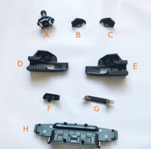DJI Spark RC Controller Replacement Parts Starting From