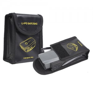 Li-Po Battery Safe Bag LiPo Guard for DJI Mavic Pro or Other Li-Po Battery