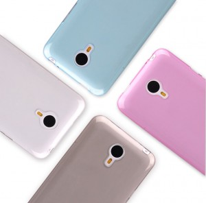 Meizu M3 Note Clear Back Protective Cover