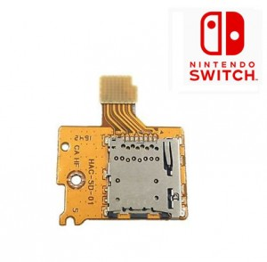 Nintendo Switch MicroSD Card Reader Memory Card Slot Module Replacement Repair