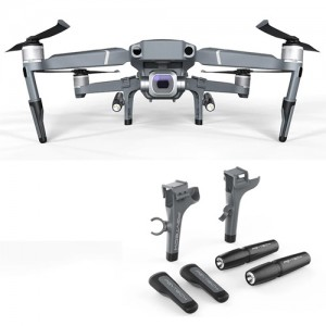 PGYTECH Landing Gear Extension with LED Headlamp Set for DJI Mavic 2