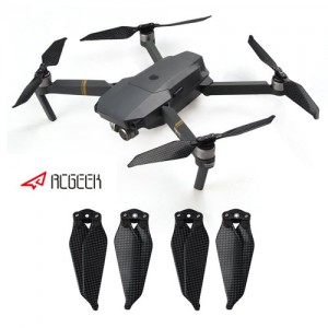 RCGEEK Carbon Fiber Propellers for DJI Mavic Pro 8331 Low Noise Blades