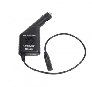 Car Charger with USB for DJI Mavic Pro
