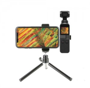 Gimbal Camera Tripod Bracket Mount Phone Holder for DJI Osmo Pocket Accessories