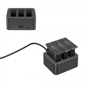 Yx Battery Charging Hub for DJI Osmo Action Batteries