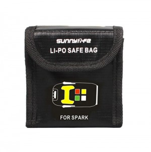 LiPo Battery Safe Bag LiPo Guard for DJI Spark - Dual Battery