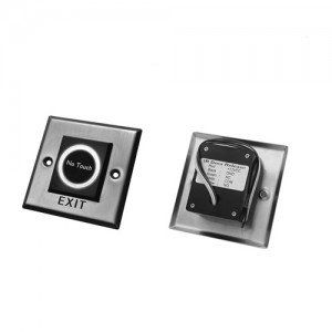 Contactless Door Release Infrared Sensor Switch No Touch Exit Button with LED 86x86mm