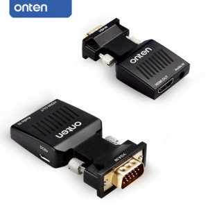 ONTEN VGA to HDMI Adapter with Audio Input