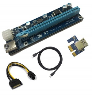 PCIx 1x - 16x Riser Adapter for Mining Graphics Card Adapter