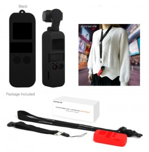 Sunnylife Silicone Case with Lanyard for DJI OSMO POCKET