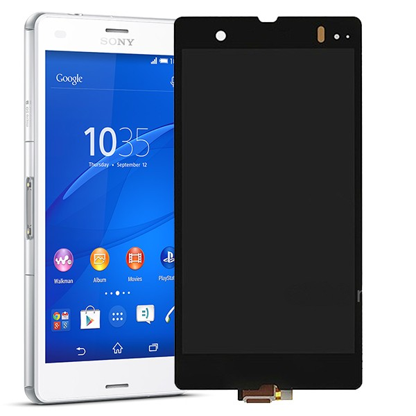 SONY Xperia Z3 Compact LCD Screen Digitizer Touch Screen Complete Replacement Repair - SONY Xperia Z3/ Z3 Compact Repairs - SONY Xperia Repairs - Phone ...